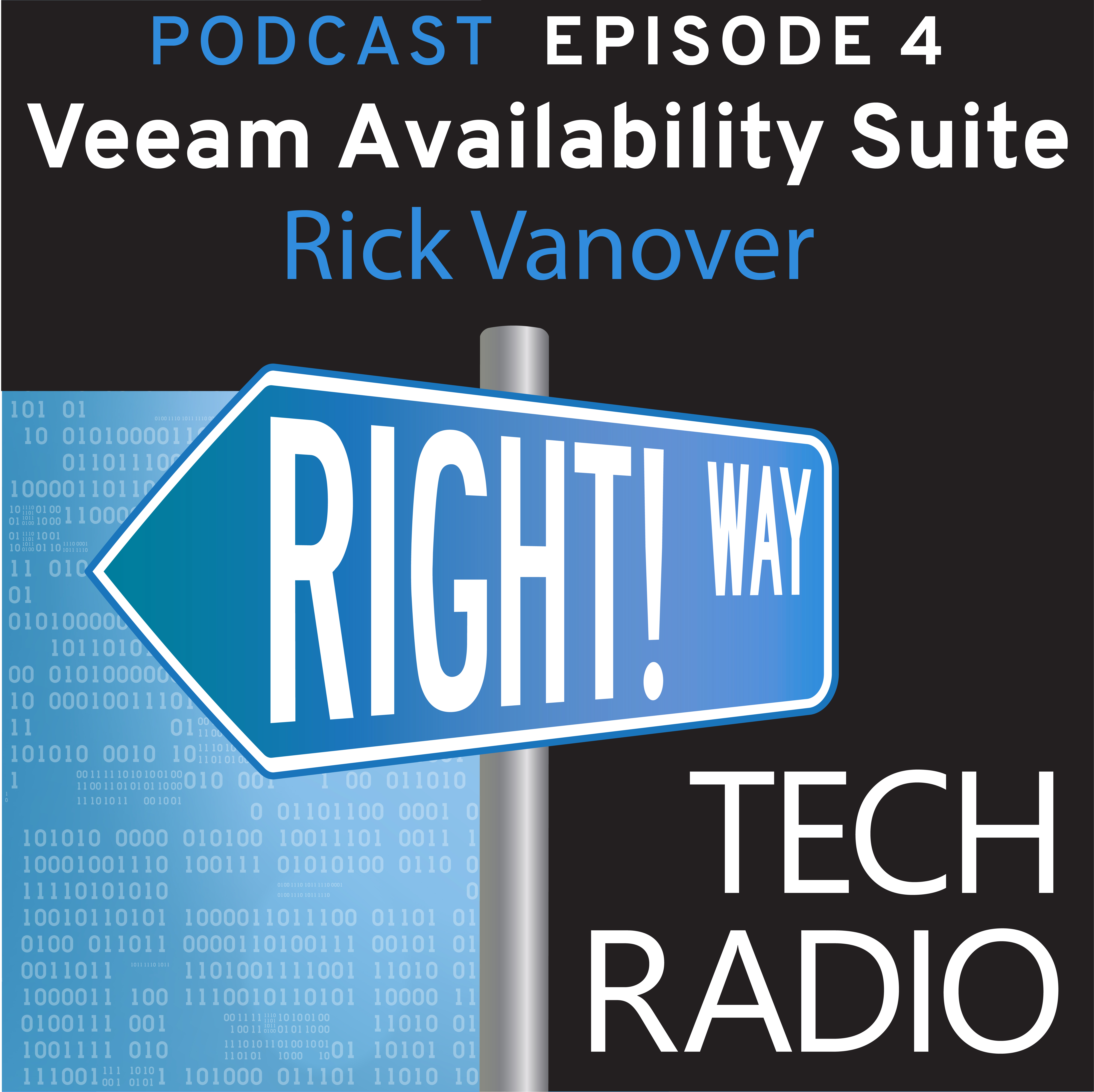 Right! Way Tech Radio: Availability Suite 9.5 with Veeam