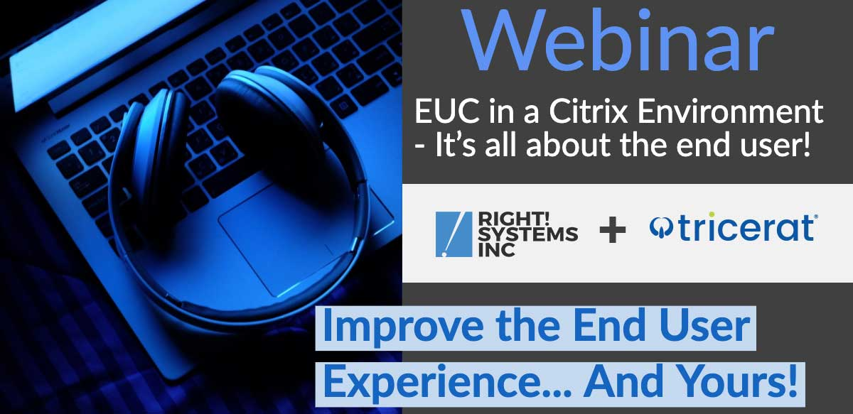 Right! Systems and Tricerat Webinar