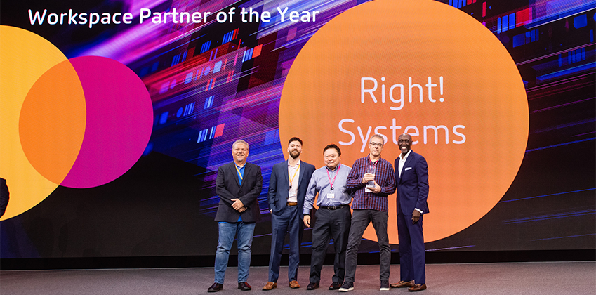 Citrix Workspace Partner of the Year 2019 – Right! Systems